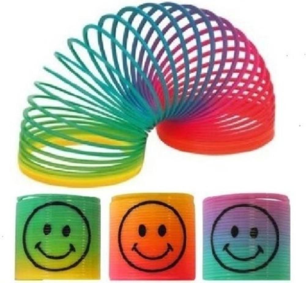 Rainbow Mini Smile Spring - 6 pack