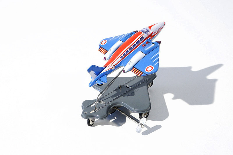 Stratoliner flying aeroplane