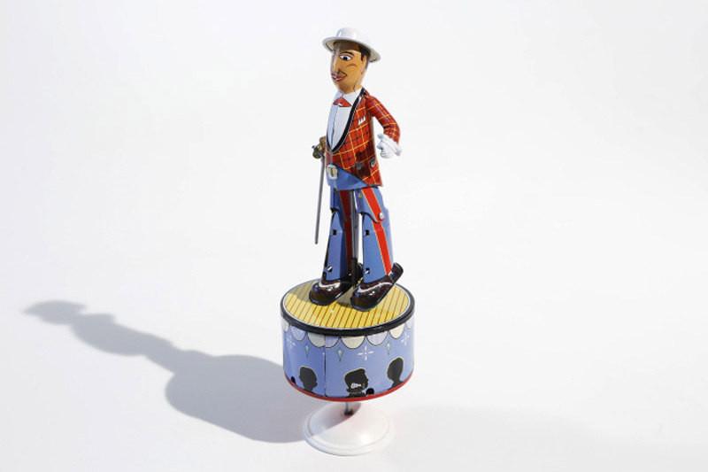 Tap Dancer Tin Character