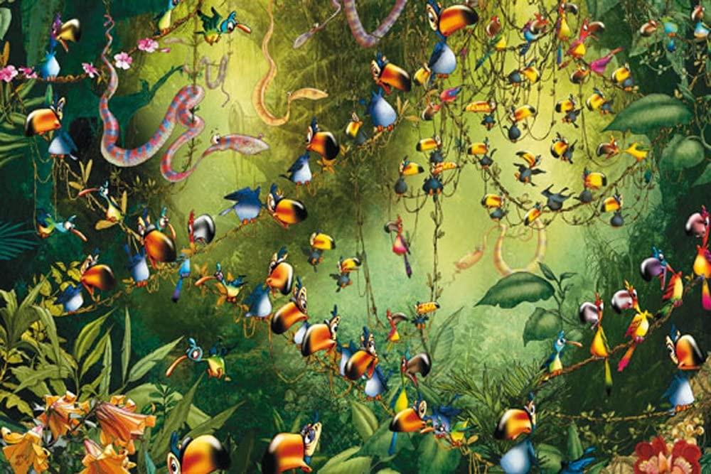Toucans in Jungle Puzzle