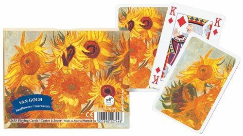 Van Gogh Sunflowers Twin Deck