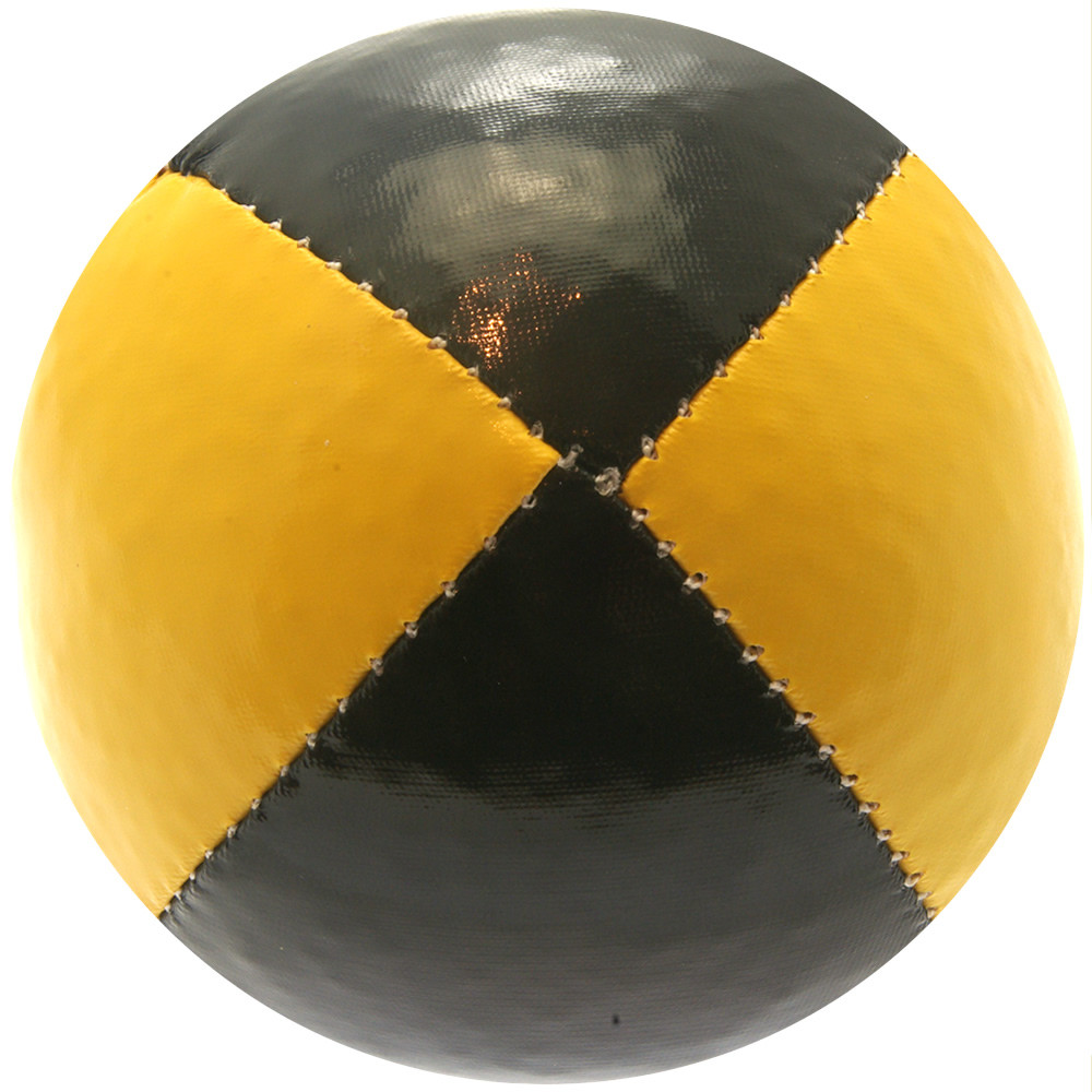 Yellow & Black Juggling Ball