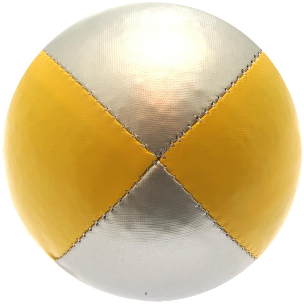 Yellow & Silver Juggling Ball