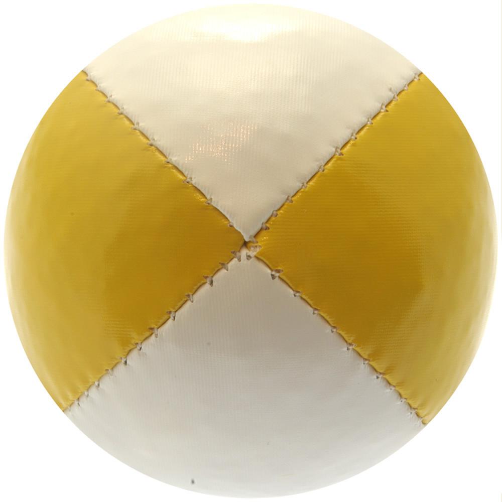 Yellow & White Juggling Ball