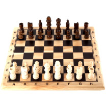 Wooden CHESS SET 30 x 30 - KING 60 MM