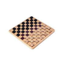 Wooden Draughts / Checkers set