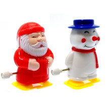 Clockwork Santa & Snowman Pencil Sharpener