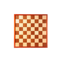 Inlaid 10 x 10 Draughts board / Checkers and 8 x 8 Chess board