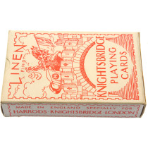 Harrods Knightsbridge sealed playing cards