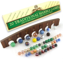 20 Traditional Marble Games In A Box