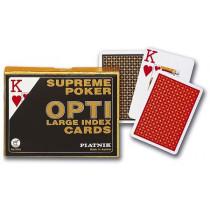 Piatnik Opti Poker Size Double Card Decks