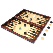 Wooden Folding Backgammon