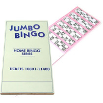 Jumbo Book of Bingo Tickets