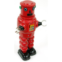 Roby Robot in Red or Black