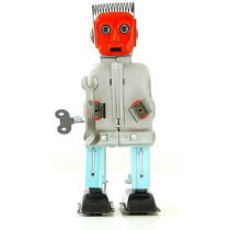 Zoomer Red Face Robot
