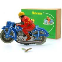 Blue Motor Racer