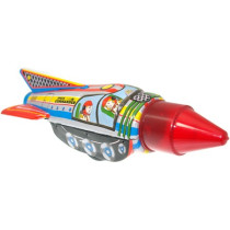 Tin Treasure's Space Commander Rocket