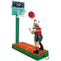 Tin Basketball Player