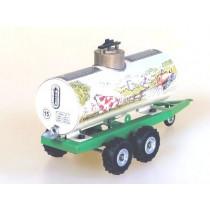 Liquid manure trailer