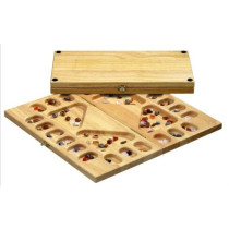 Kalaha / Mancala game 4 player with Gem stones