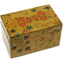 Painted card box