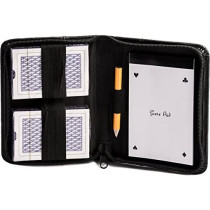Playing cards & scorecard wallet / case