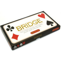 Bridge card game set