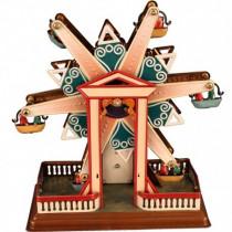 Star Ferris Wheel - Tin Toy / retro / clockwork fairground toy