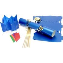 Bulk-Packed Cracker Kit 35cm - Blue - 100 Pack