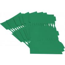 Cracker Kit Card Blanks 35cm - Green - 6 Pack