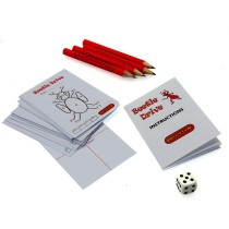 Miniature Beetle Drive game. Ideal Christmas Cracker filler