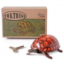 Tin toy walking tortoise