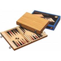 Natural Wooden Folding Backgammon (1181)