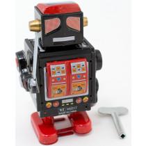 Black Robot with sword