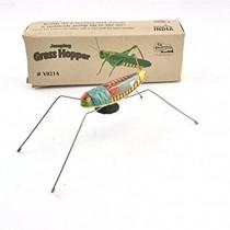 Tin toy grasshopper