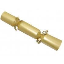 Large Wedding DIY Cracker Kit  35cm - Gold - 6 Pack