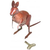 Hopping Kangaroo tin toy