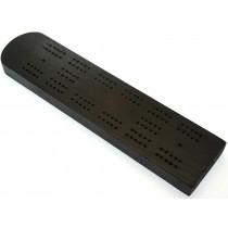 Mahogany cribbage board