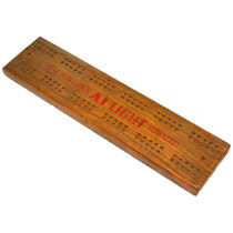 Wills's Woodbines cribbage board