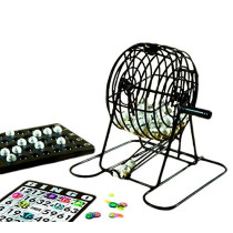 Complete bingo Set with bingo cage 70 ball bingo