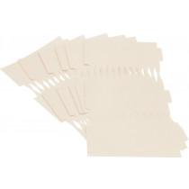 Cracker Kit Card Blanks 35cm - Cream - 6 Pack