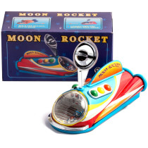 Spaceship Moon rocket