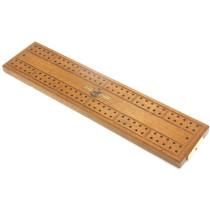 St George series cribbage board