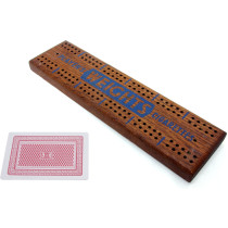 Player's Weights advertising cribbage board