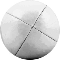 Silver Juggling Ball