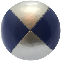 Blue & Silver Juggling Ball