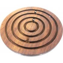 Wooden labyrinth/ maze puzzle
