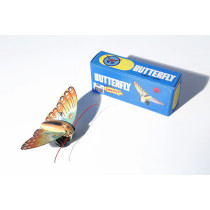Butterfly Clockwork tin toy