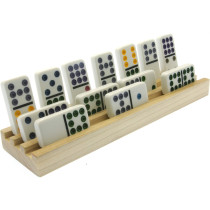 Solid Wood Domino trays set of 4