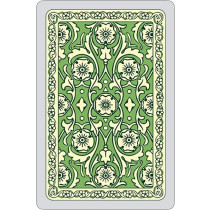 Autumn colours single card deck, green